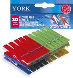 Pesulõksud York Standart, 20tk