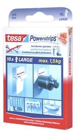 Kahepoolne kleeps Tesa Powerstrips Large 10tk