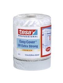 Maalriteip kattekilega Tesa Easy Cover, tugev, 55cm x 12m
