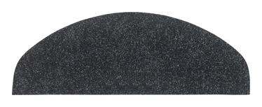 Paklājs pakāpieniem Vebe 27x64cm, melns