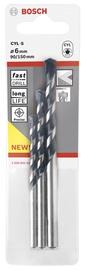 Betoonipuuride komplekt Bosch Blue Granite CYL-5, Ø5 /6 /8 mm