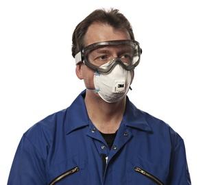 Daļiņu respirators 3M FFP2 8822C, 3 gab.