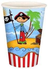 Papīra glāzes Pirate 200ml, 10 gab.