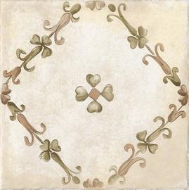 Flīzes dekors Kerama Marazzi Ferentino Beige Flora 20x20cm