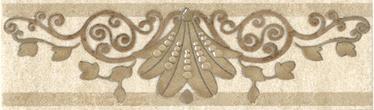 Keraamiline bordüür Kerama-Marazzi Rometta 20x5,7cm beež