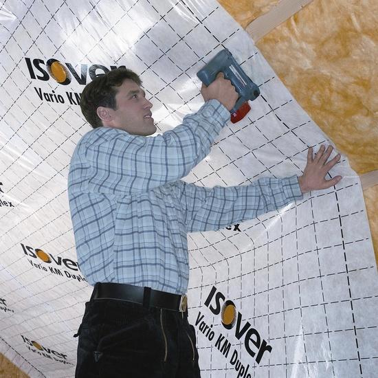 Aurutõkkekile Isover Vario KM Duplex UV, 1500x40000mm / 60m²