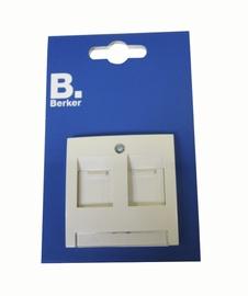 Datu kontaktligzda Berker S.1 2P B/R, krēmkrāsas