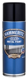 Aerosoolvärv Hammerite Hammered, must 400ML