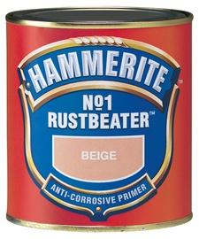 Metallikruntvärv Hammerite No.1 Rustbeater, tumepruun 500 ml
