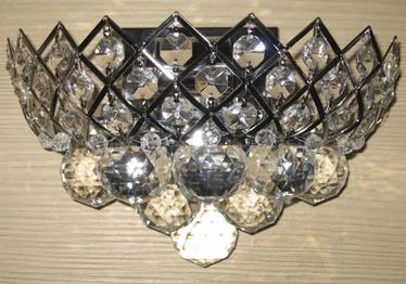 Sienas lampa Baltik Gaisma 40W E14, hromēta