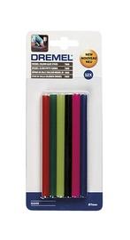 Liimipulgad värvilised Dremel, 7 mm, 12 tk
