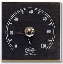 Sauna termomeeter Saunia, must ruut