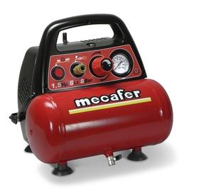 Suruõhu kompressor Mecafer 6-osaline 1,1Kw 6l