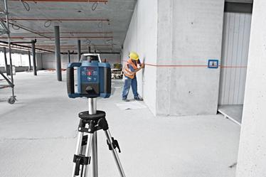 Rotācijas lāzers ar uztvērēju Bosch GRL 300 HV Set