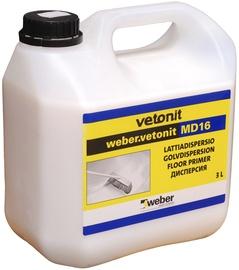 Põrandadispersioon Weber Vetonit MD16 3L