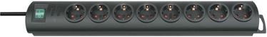 Pikendusjuhe Brennenstuhl Primera 3G1.5 8P+L, 1,5 m, must