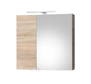 Vonios spintelė Riva su veidrodžiu SV70-11