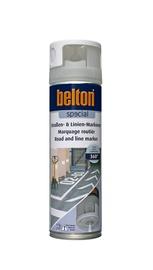"""Aerozoliniai kelių dažai """"Belton"""", balti, 500 ml"""