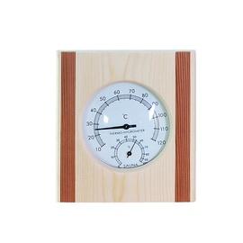 Termometrs+ higrometrs Flammifer AP-053BW