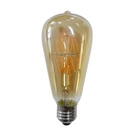 LED LAMP 6W E27 ST-64 FILAMENT DEKO