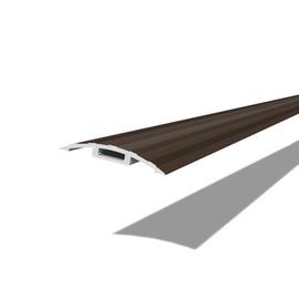 KATTELIIST PVC FTDR42 0.9M PRUUN