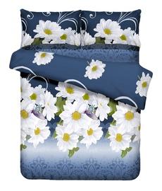 Gultas veļas komplekts Perfetto Textile, 160x200/50x70cm, zils