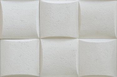 Flīzes sienai Pillow Stone 0,43 baltas 5 gab.