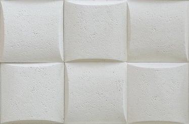 AKMENS DEKORAT. PILLOW STONE WHITE 0.49