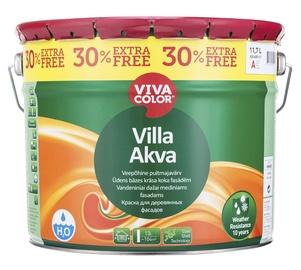 Fassaadivärv Vivacolor Villa Akva, valge (A) 11,7L
