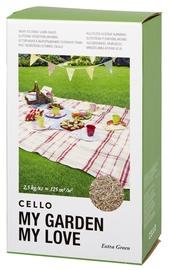 Zāliena sēklas Cello Extra Green 2,5kg