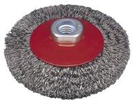 Koonuseline traathari Osborn Eco, M14, laines traat, Ø100 x 10 mm