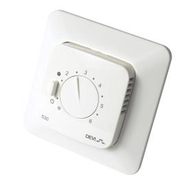 Põrandakütte termostaat DEVIreg 530, 5-45°C, süvistatav