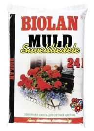 Augsne vasaras puķēm Biolan, 24L
