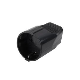 Kontaktrozete Electraline 16A 250V, melna