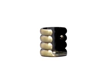 Aizkaru stangas gala turētājs Dekorika D16mm, sudraba krāsā