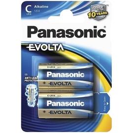 Baterijas Panasonic Evolta C, 2 gab.