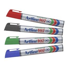 Marker Artline, püsiv, 1,5 mm, punane