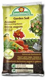 Aiamuld lilledele ja köögiviljadele Greenworld 60L