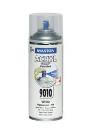 Aerosola krāsa Maston 400ml, spīdīgi balta