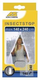 Putukavõrk uksele Schellenberg  2x75x240cm, must