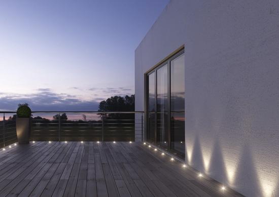 led komplekt osram noxlite garden spot 4 5w k. Black Bedroom Furniture Sets. Home Design Ideas