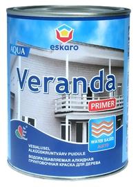 Kruntvärv Eskaro Veranda Primer Aqua, valge, 900 ml