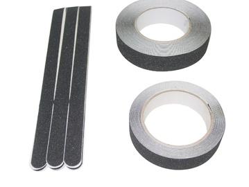 Teip Pisla Anti-Slip, 20 x 600 mm, must, 6tk
