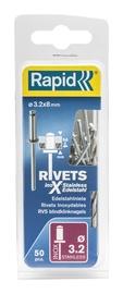 Neet Rapid, roostevaba, 3,2x8 mm, 50 tk + puur
