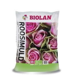 Augsne rozēm Biolan 55l