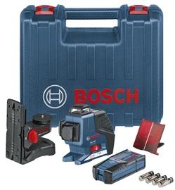 Krustlīniju lāzers Bosch GLL 3-80 P, ar piederumiem