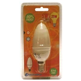 Säästulamp Electraline Candle T2, 5W, E14