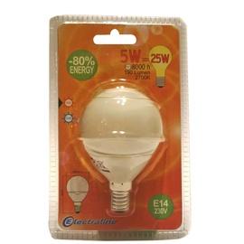 Säästulamp Electraline Mini Globe T2 5W E14