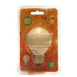 Säästulamp Electraline Mini Globe T2 5W E27