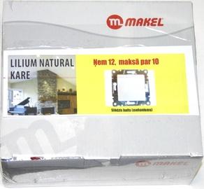 Lüliti Makel Lilium, raamita, valge, 12 tk